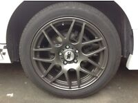 Volkswagen Transporter T5 Alloy Wheels and Tyres
