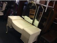 Cream vintage French style dressing table