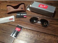 New Ray ban aviators sunglasses
