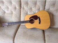Martin D-18 acoustic guitar 2011 OHSC & manual