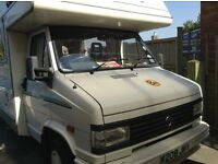5/6 berth motorhome , very reliable, great runner, low mileage, petrol 2l engine, reluctant sell.