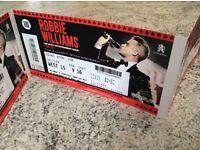 Robbie Williams, 5 tickets for Murrayfield