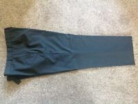 Men's black trousers from Marks and Spencers