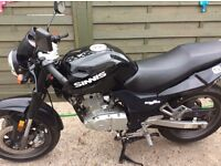 Black sinnis stealth 125 good to go good clean starter ready for summer