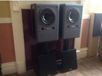 TANNOY NFM8 HIGH END MONITOR SPEAKERS. SUPERB SOUND AND VERY GOOD CONDITION. DUAL CONCENTRIC UNITS.