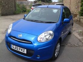 Nissan 1.2 Micra Accenta 5 Door Hatchback Low Mileage 12 Months Test.