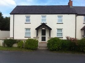 3-bed recently refurbished property in rural Pembrokeshire - furnished or partly-furnished