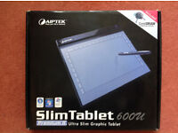 Aiptek Slim Tablet 600u - Premium II Ultra Slimgaphic Tablet