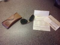 Ray Ban Outdoorsman/Aviator Sunglasses 62mm USA made.
