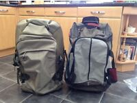 Two wheeled bags/ holdall/ trolley bags