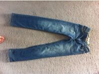 TIMBERLAND GIRLS JEANS AGE 12 YEARS VGC