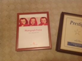 "Picture / photo frames 10"" x 12"""