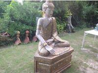 Fabulous life size Buddha princess ...170 cms x 120 cms