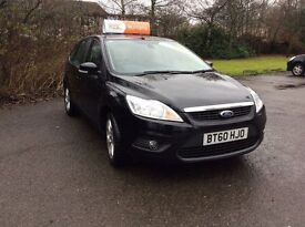 !!! 2011 FORD FOCUS SPORT BLACK !!! FINANCE AVAILABLE, 3 MONTHS RAC WARRANTY, 12 MONTHS MOT