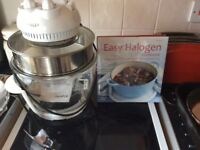 Halogen Oven and Cookbook