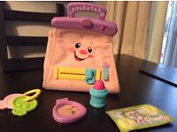Fisher Price interactive purse