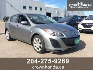 2010 MAZDA 3 GX - ONE OWNER, LOCAL TRADE!