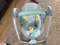 TaGgies baby bouncer rocker