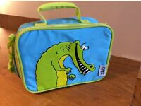 'The Hungry Jungle' insulated crocodile kids lunch bag
