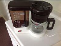 Salton Hot Coffee Maker Model 3606 (CM60) including Instruction Leaflet - Excellent Condition