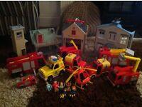 Large Fireman Sam Bundle