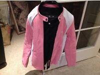 Brand new ladies Weisse motorcycle jacket