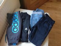 Boys labelled jogger and jeans