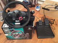 PS3 Logitech GT Wheel