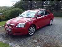 Toyota Avensis T3 for sale, low mileage, MOT 29/10/16 NEW PRICE £1,250 Ono