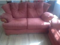 Red Sofa - really comfy and great condition