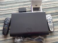 Sky hd 1TB box 2 remotes and 2 wifi boxes