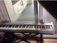 Yamaha P95 88 keys (full size) digital piano keyboard plus music rest