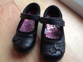 School Shoes, Asda George, young girls Black Size 9 used