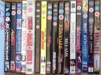 DVDs 50 pence each
