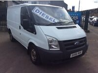 2006 FORD TRANSIT 2,2 NEW SHAPE *LOW MILES* FULL YEARS MOT SERVICED EXCELLENT CONDITION £3400 NO VAT
