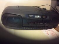Digital radio and CD player and twin tape decks