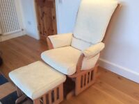 Dutailier glider chair and stool