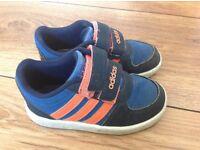 Boys Adidas trainers - kids size 6