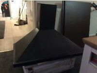 90cm black cookerhood