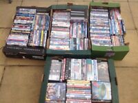 DVDs for sales