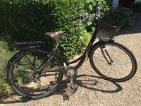 Ladies retro style bike