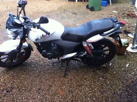 125cc Motorbike. Perfect bike, no problems. Great first bike or xmas present.