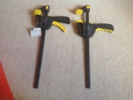 Pair of bar clamps