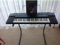 Casio Tone Bank CT-470 keyboard.