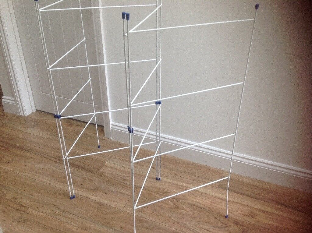 Wire coated clothes airer/dryer