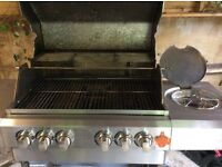 Gas BBQ manufactured by Swiss Grill