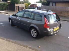 Renault Megane 1.5cc 06 Reg Estate 6 Speed