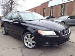 2007 Volvo S80 I6 AWD 3.2| LEATHER| SUNROOF| VENT SEATS