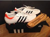 Adidas Predator White Football Boots UK Size 10 boxed as new