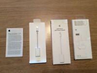 Apple Lightning to USB Camera Adaptor.